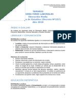 Temario Fines Laborales Media Ve 2019