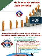 COMO SALIR DE LA ZONA DE CONFORT A LA ZONA DE SUDOR