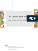 THE CREATIVE BRIEF TOOL