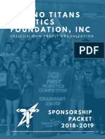 Sponsorship Packet 18-19