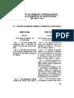 Tratados de Derecho Internacional Privado Suscriptos en Montevideo en 1889 y 1940