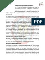 El Juicio Ejecutivo Laboral en Guatemala Eddy Taracena