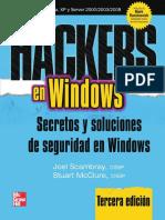 Hackers en Windows Secretos y Soluciones de Seguridad en Windows
