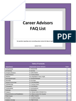 Career Advisors FAQ 2018 - FINAL