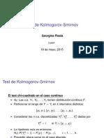 test de kolmogorov