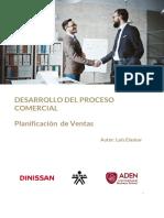 Desarrollo del proceso comercial