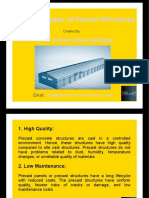 10 Advantages of Precast Structures - Steel Construction Detailing