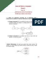 Base de datos diagrama entidad relacion