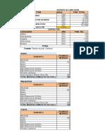 Calculos Formulacion Cayara (Autoguardado)