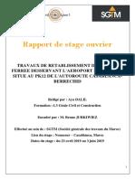 Rapport de stage finalisé