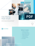 Data Sharing made simple by Snowflake