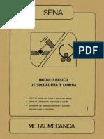 1 Modulo de Soldadura y Lamina