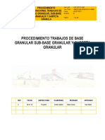 Procedimiento Base Granular Sub-Base Granular OK