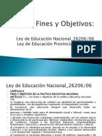 Fines Objs Ley Educ Nac 26206 06 Prov 6691 10