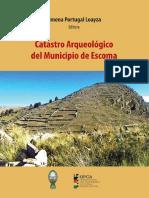 CATASTRO ARQUEOLÓGICO DE ESCOMA