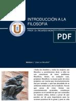 introducción a la filosofia