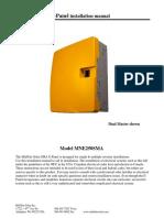 SMA E-Panel Manual
