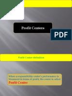 Profit Centres