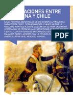 Las Relaciones Entre Argentina y Chile