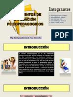 PSICOPEDAGOGICOS