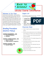 2019-2020 pre-ap precalculus syllabus