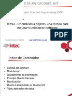 Diplomado Desarrollo de Aplicaciones.net Modulo OOP Clase 1 B