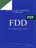 Manual de Elaboracao de Projetos Fdd 2019 Com Capa