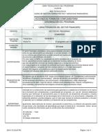 Caracterizacion Del Sector Financiero