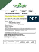 FDS Productos de aseo