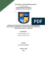 Informe Admin Bd