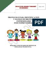 Protocolo de Brotes y Enfermedades Inmunoprevenibles