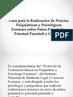 Presentación Tema Patria Potestad y Custodia