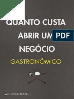 E-Book Quanto custa abrir um negócio Gastronômico.pdf