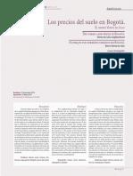 Los precios del suelo en Bogotá.pdf