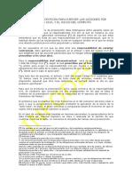 El Plazo de Prescripción Para Ejercer Las Acciones Por Responsabilidad Civil y El Inicio Del Cómputo.