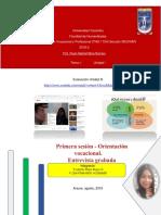 T2- Primera Sesión - Orientación Vocacional. Entrevista Grabada -RUBENRAMMSTEIN