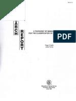 1988 Taxonomy of Semantic Relations