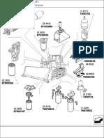 Manual de Partes d180 Tier3 Tractor Sobre Cadenas
