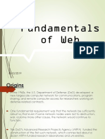 Fundamentals of Web