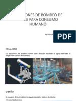 NORMA OS.040 - Estaciones de Bombeo de Agua Para Consumo Humano