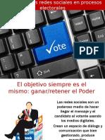 Impacto de Las Redes Sociales en Procesos Electorales