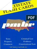 PMBR Flash Cards - Evidence - 2007