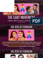 5. The LGBT Movement- SameSex Relationships Fidelity , Domestic Violence and STDs