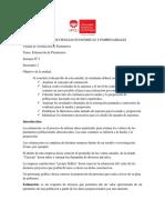 II Unidad Estadistica Dos Estimacion de Parametros