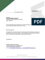 RSC-CM-109-17 Entrega Plan de Trabajo via Yenac - Nov-dic 2017