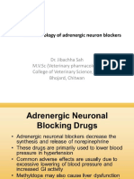 Pharmacology of Adrenergic Neuron Blockers-Dr.Jibachha Sah,M.V.Sc,Lecturer