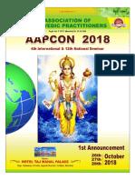 Brochure for Ayurveda program
