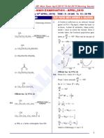 10th April Shift1 Chemistry