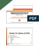 Chapter II 1 Basics of HTML