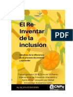 El Re-Inventar de La Inclusión - Sílvia Ester Orrú - PDF